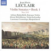 Jean-Marie Leclair: Violin Sonatas, Book 1