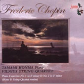 Frederic Chopin: Piano Concertos Nos. 1 & 2inor (Piano Quartet Version)