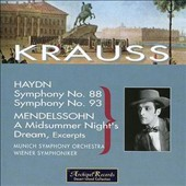 Haydn: Symphony No. 88; Symphony No. 93; Mendelssohn: A Midsummer Night's Dream, Excerpts