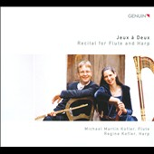 Jeux &agrave; Deux: Recital for Flute & Harp / Michael Martin Kofler