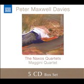 Peter Maxwell Davies: The Naxos Quartets / Maggini Quartet