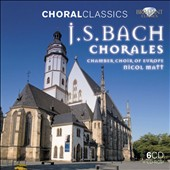 J.S. Bach: Chorales / Chamber Choir of Europe