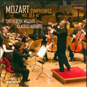 Mozart: Symphonies Nos. 39 & 40 / Abbado