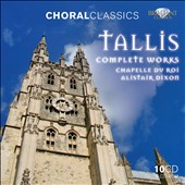 Thomas Tallis: Complete Works [10 CDs + CD ROM]