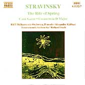 Stravinsky: Rite of Spring, Card Game, Concerto in D Major