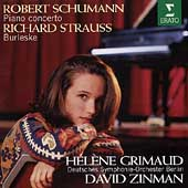 Schumann: Piano Concerto;  Strauss / Grimaud, Zinman