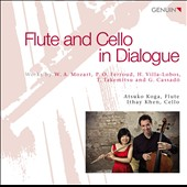 Flute and Cello in Dialogue - works by Mozat, Ferroud, Villa-Lobos, Takemitsu / Atsuko Koga, flute; Ithay Khen, cello