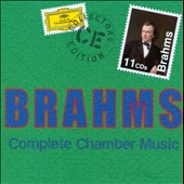 Brahms: Complete Chamber Music / Maria Joao Pires, Emerson String Quartet and Amadeus Quartet