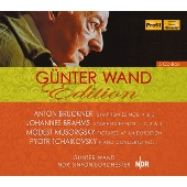 Gunter Wand Edition - Bruckner: Symphonies 4 & 5; Brahms: Symphonies 1-4; Musorgsky: Pictures; Tchaikovsky: Piano Concerto no 1