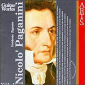 Paganini: Complete Guitar Music Vol 1 / Frédéric Zigante