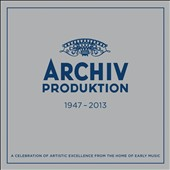 Archiv Produktion: Early Music Studio of Deutsche Grammophon 1947-2013 /  Helmut Walcha, David Munrow, Ralph Kirkpatrick et al. [55 CDs]