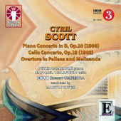 Cyril Scott: Piano Concerto; Cello Concerto; Pelleas and Melisanda, overture / Raphael Wallfisch, cello; Peter Donohoe, piano