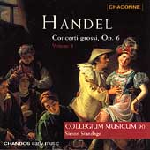 Handel: Concerti grossi Op 6 Vol 1 / Standage, et al