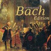 Carl Philipp Emanuel Bach Edition / Rundfunkchor Berlin (rec. 1985 - 2013) [30 CDs]