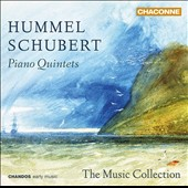Hummell & Schubert: Piano Quintets / The Music Collection