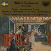 Rubenson: Symphony in C;  Drapa / Roy Goodman, Umeå SO