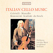 Italian Cello Music / R Dieltiens, R van der Meer, et al