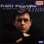 Verdi: Arias / Franz Hawlata, Helmuth Froschauer, et al