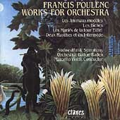 Poulenc: Les Biches, Animaux Mod&#232;les, etc / Marcello Viotti