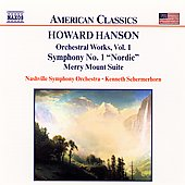 American Classics - Hanson: Orchestral Works Vol 1