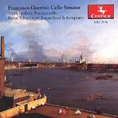 Guerini: Cello Sonatas / Sarah Freiberg, Byron Schenkman
