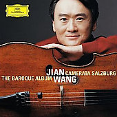 The Baroque Album - Monn, etc / Jian Wang, Camerata Salzburg