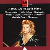Adilia Alieva plays Piano - Mendelssohn, Villa-Lobos, et al