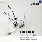 Hosokawa: Deep Silence / Miyata, Hussong