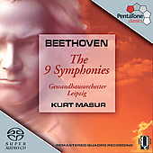 Beethoven: The 9 Symphonies / Masur, et al