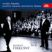 Jan&#225;cek, Brahms, Beethoven: Violin Sonatas / Suk, Firkusny