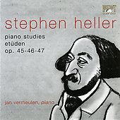Heller: Piano Studies & Etudes Op 45, 46 & 47 / Vermeulen