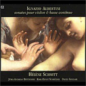 Ignazio Albertini: Sonates pour violon & basse continue