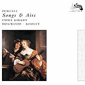 Purcell: Songs & Airs / Kirkby, Hogwood, Rooley, et al