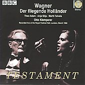 Wagner: Der fliegende Holl&auml;nder / Klemperer, Silja, King, Adam, Talvela, et al