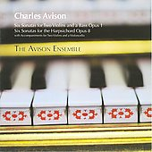 Avison: Trio Sonatas / The Avison Ensemble