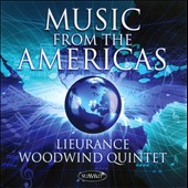 Music from the Americas: Works by Pitomberia, Muczynski, Wilder, Valjean / Lieurance Wind Quintet
