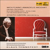 Klaus Tennstedt Conducts Mozart: Sinfonia Concertante; Haydn: Symphony no 64