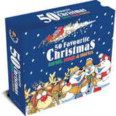 Various Artists: 50 Favourite Christmas Carols