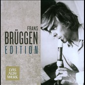 The Frans Brüggen Edition - pre-baroque, baroque & rococco works for recorder(s) / Frans Bruggen, recorder [12 CD]