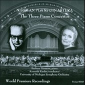 Nissman Plays Ginastera: The Three Piano Concertos / Barbara Nissman, piano