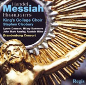 Handel: Messiah (Highlights) [Regis Records]