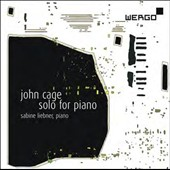 John Cage: Solo for Piano / Sabine Liebner, piano