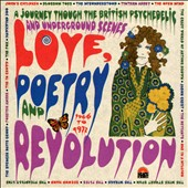 Various Artists: Love, Poetry and Revolution: A Journey Through the British Psychedelic and Underground Scenes 1966 to 1972 [Box]