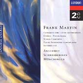 Martin: Concerto for 7 Winds, etc / Ansermet, Münchinger