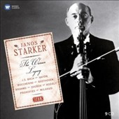 Janos Starker: The Warner Legacy - Bach: Cello Suites; Show pieces by Kreisler, Debussy, Chopin, Popper, Schumann, Paganini; Concertos by Haydn, Saint-Saens, Dvorak, Prokofiev, Milhaud; Sonatas by Brahms, Beethoven