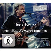 Jack Bruce: Rockpalast: The 50th Birthday Concerts [CD/DVD] [Digipak]