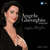 Angela Gheorghiu: Autograph - A Career Retrospective from Baroque to Bel Canto & Beyond / Angela Gheorghiu, soprano; feat. Claudio Abbado, Riccardo Chailly, Leonard Slatkin, Roberto Alagna, Jonas Kaufman et al. [8CD + 1DVD