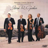 Steven R. Gerber (1948-2015): String Quartets nos 4-6; Fantasy, Fugue & Chaconne for viola and cello / Amernet Quartet