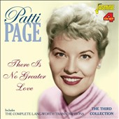 Patti Page: There is No Greater Love: The Complete Lang-Worth Transcriptions