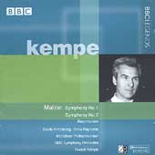 Mahler: Symphonies no 1 & 2 / Kempe, Armstrong, et al